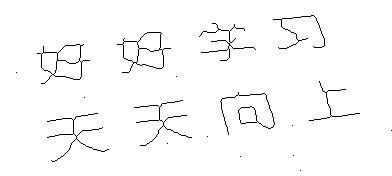 C#实现图像骨架提取zhang-Suen算法