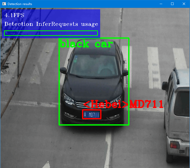 detect car with OpenVINO